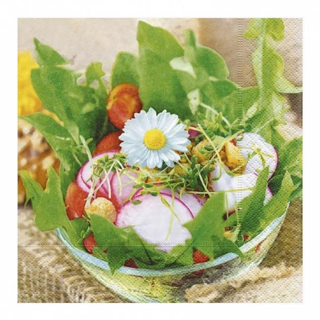 Serwetki papierowe 'Garden Salad' 33x33cm 20sztuk