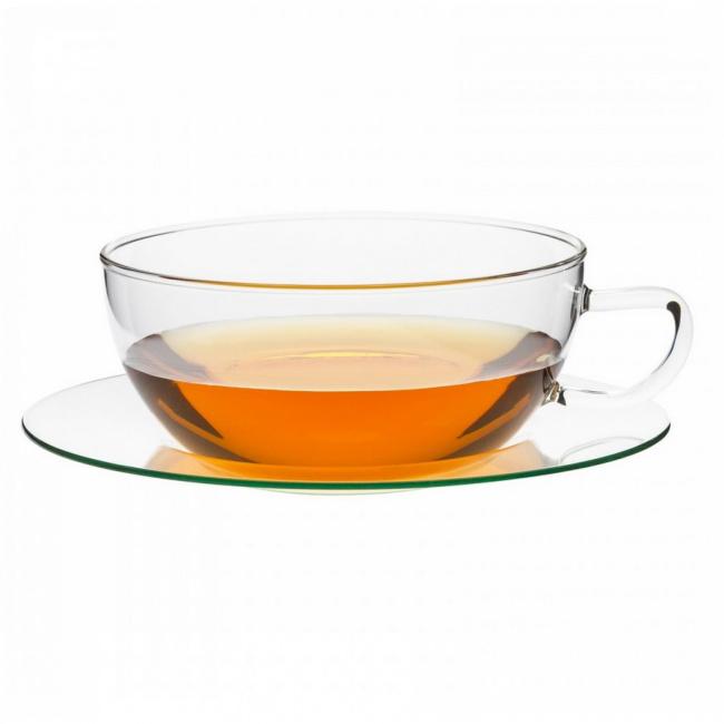 Filiżanka ze spodkiem 350ml do herbaty
