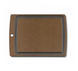 Deska do krojenia 36,8x28,6cm brązowa