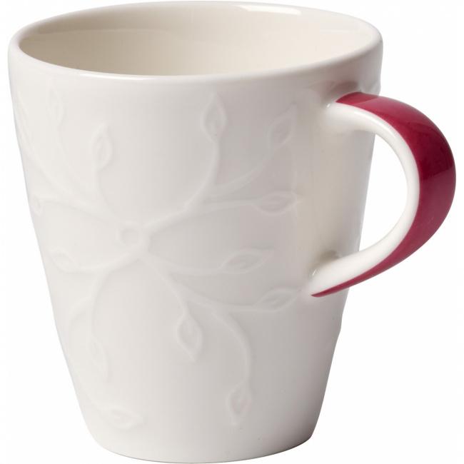 Filiżanka Caffe Club Floral Touch of Rose 100ml do espresso
