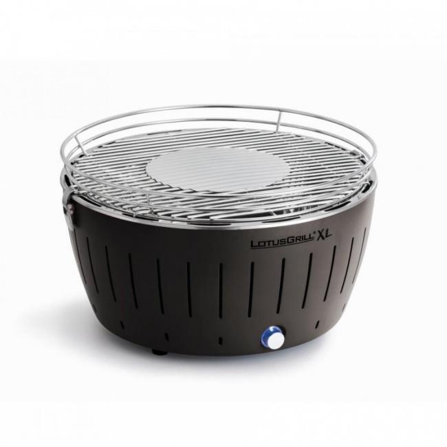 Grill węglowy XL szary