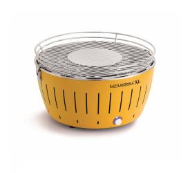 Grill węglowy żółty