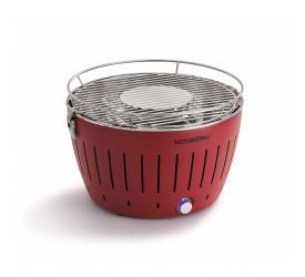 Grill węglowy czerwony