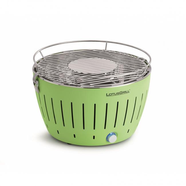 Grill węglowy zielony