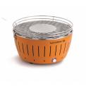 Grill węglowy pomarańczowy