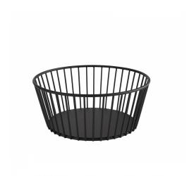 Koszyk Urban czarny 20x8,5cm