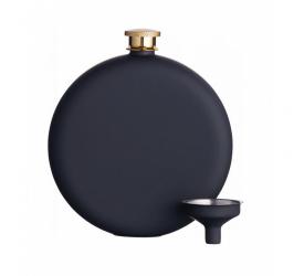 Piersiówka 350ml czarna