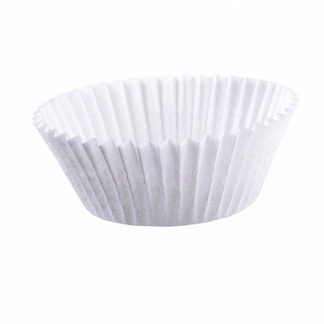 Papilotki do muffinek 200szt Białe 7cm