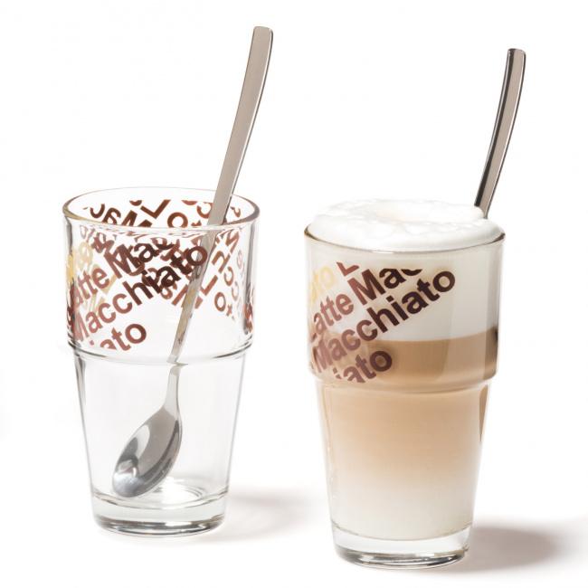 Komplet 2 szklanek Solo 370ml do kawy
