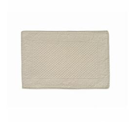 Podkładka bawełniana pikowana 35x50cm kremowa