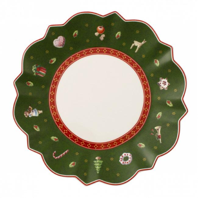 Talerz Toy's Delight 17cm deserowy zielony