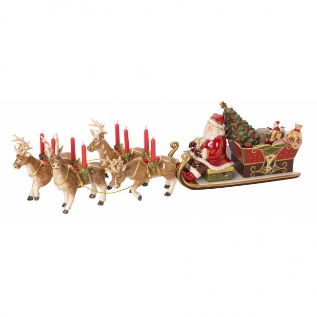 Zaprzęg mikołaja Christmas Toys Memory 22x70cm