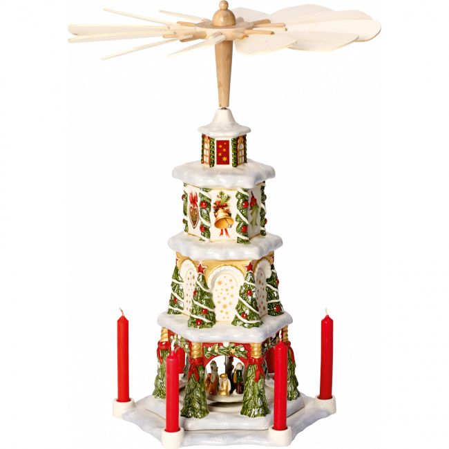 Piramida świąteczna Christmas Toys Memory 41cm