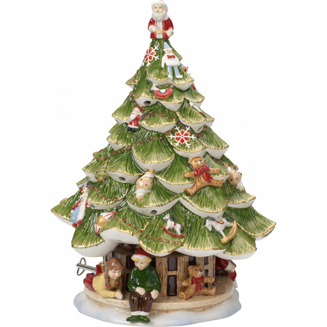 Choinka lampion z poyztywką Christmas Toys Memory