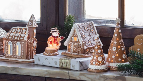 Winter Bakery Decoration